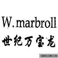 世纪万宝龙  W MARBROLL