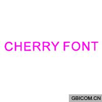 CHERRY FONT